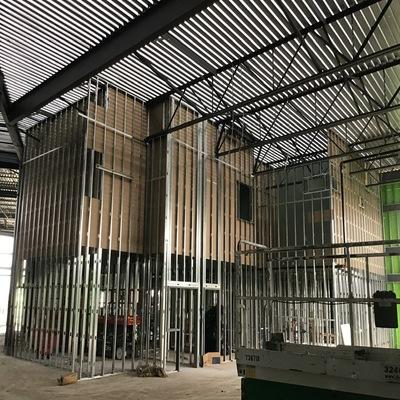 High Roof Interior Framing